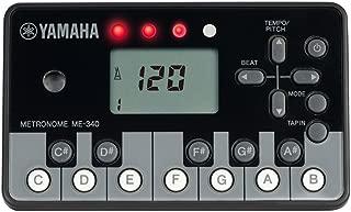YAMAHA 雅马哈 电子节拍器 钢琴造型黑色 ME-340PF