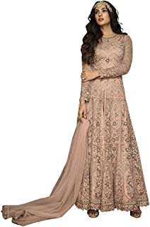 Fabzara Womens Embroidered Salwar Suit (7207_Semi-Stitched)