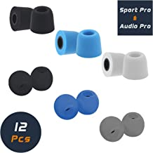Comfortable Secure Fit Medium E4 H5 /& H3 Foam Tips with SweatGuard Premium Memory Foam Earphone Earbuds Tips for B/&O Play Beoplay E8 Noise Reducing Replacement Earbud Tips E6
