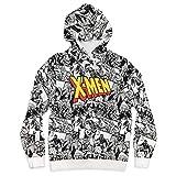Marvel X-Men Pullover Hoodie for Men, Size L