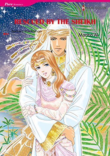 Rescued by The Sheikh: Harlequin comics (English Edition)