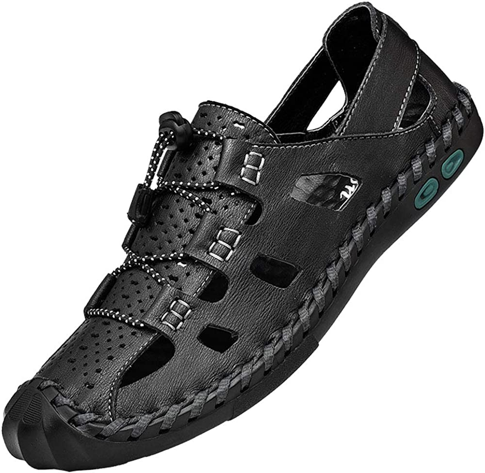 At the price of surprise Awanxy Mens Breathable Sandals Athletic Stitching Walking Tulsa Mall Hand O