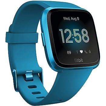 Fitbit Versa Lite Smartwatch Per Benessere E Forma Fisica Blu Marino Amazon It Sport E Tempo Libero