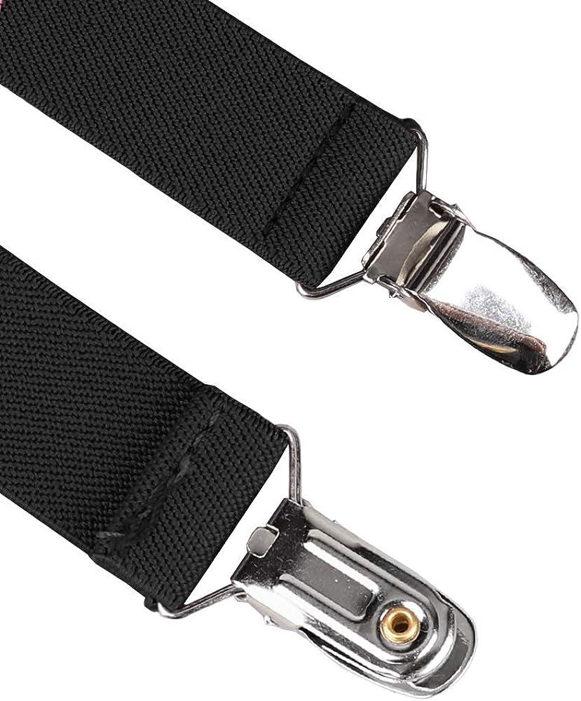 KRATARC Mitten Gloves Clips Keeper Kids Boys Baby Girls Elastic Glove Strap (4pcs- Pure Black)