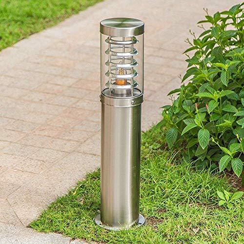 Hines Simple jardin paysage lampe LED jardin extérieur pelouse Villa lampe chinoise herbe créative imperméable lampe de sol colonne