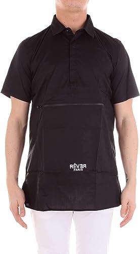 RêVER PARIS Homme 1801011noir Noir Coton Polo