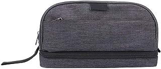 حقيبة مستحضرات التجميل الكبيرة من WSJTT حقيبة مستحضرات التجميل لتنظيم الأغراض للنساء والفتيات (اللون: أزرق)