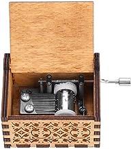 Houten Handslinger Muziekdoos Muziekdoos Vintage Handgegraveerde Houten Muziekdoos (HP)