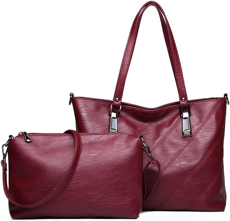 6876079e5691f ZLULU Damen-Schultertaschen Damenhandtaschen Zweiteilige Muttertasche Mit  Schulterdiagonale B07L2JWFFP B07L2JWFFP B07L2JWFFP Stilvoll und lustig  bc8e57