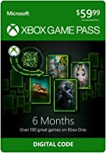 Xbox Game Pass: 6 Month Membership [Digital Code]
