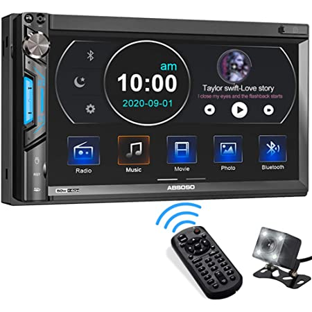 gaixample.org 7inch HD Bluetooth Double Din Car Stereo MP5 Player ...