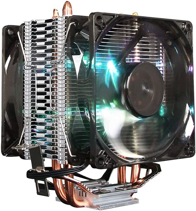 Sacramento Mall WCN Fans CPU Air Very popular Cooler Dual Tower 4 Compatible Multi