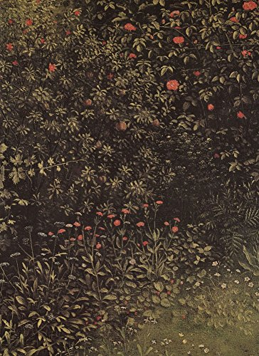 Het Museum Outlet - Bloeiende struiken en planten door Jan Van Eyck - Canvas Print Online Kopen (40 X 50 Inch)