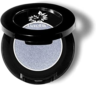 BaeBlu Hypoallergenic Eyeshadow Organic 100% Natural Finely Pressed Velvety Smooth Powder, Made in USA, Sterling
