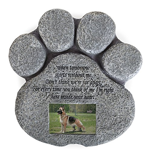 Besti Pet Memorial Stone for Cats and Dogs