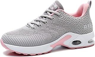 AFFINEST Homme Femme Chaussures de Course Air Running Baskets Chaussures de Sport Outdoor Fitness Gym Sneakers Légères Res...