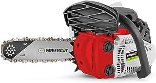 Greencut GS250X Motosierra Poda de Gasolina 25,4cc y 1,4cv con Espada de 10'' Arranque Easy-Start, Sistema Anti-Vibración,...