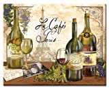 CounterArt Reserve Vintage Wine Tempered Glass Counter Saver 15 inch...