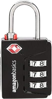 4 x candado para equipaje maleta cifras combinación castillo kofferschloß BWI