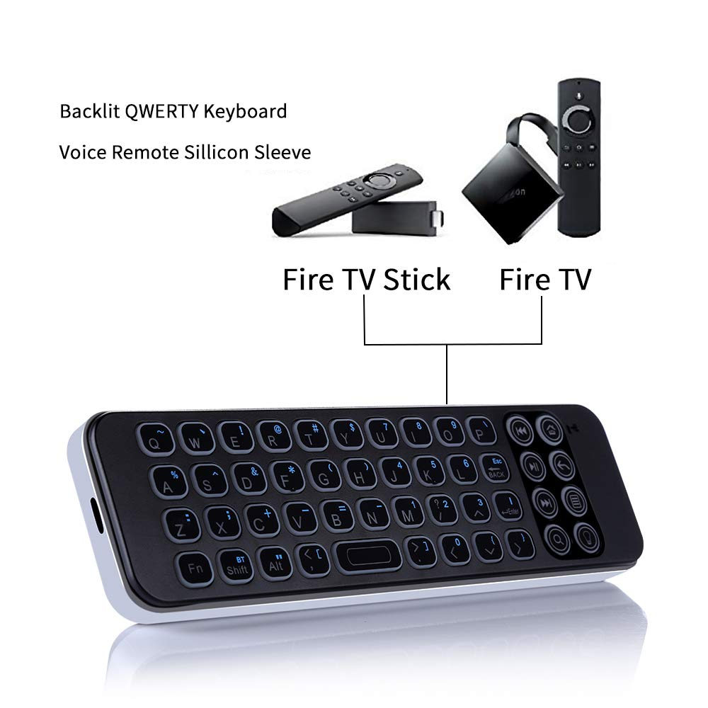 Mini teclado Bluetooth para Fire TV Stick: Amazon.es: Electrónica