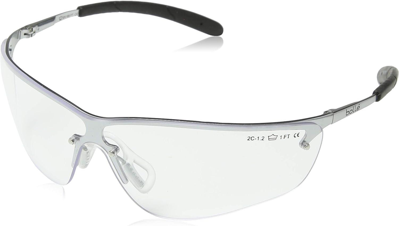 Bollé BOLSILEXPSF Silex Safety Glasses Green for sale online