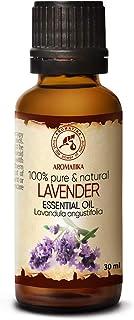 Aceite Esencial de Lavanda 30ml - Oleum Lavandulae - Bulgaria - 100% Puro y Natural - para Dormir Bien - Belleza - Bienest...