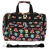World Traveler 81T16-175  Duffle Bag, One Size, Owl Black