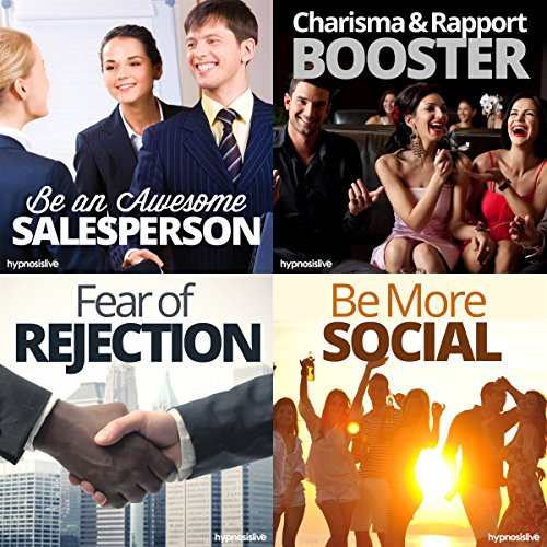 The #1 Salesperson Hypnosis Bundle cover art