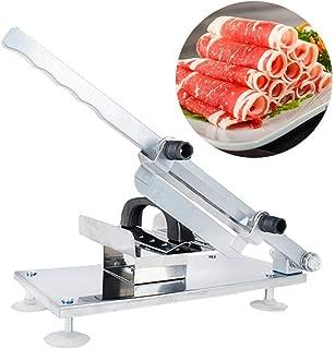 ステンレス製 手動ミートスライサー 肉切り機 マトンロール 牛肉スライス 薄切機 自宅用 業務用ミートスライサー肉切り機 調理器具 卓上型