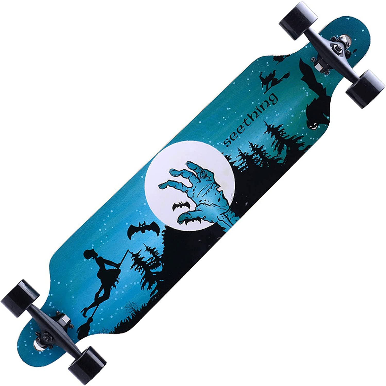 EEGUAI Longboard Denver Mall Skateboard Opening large release sale 42 inch Complete 9 Maple Longb Layer