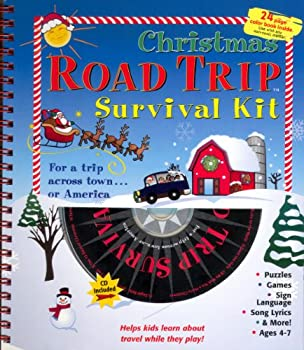 Spiral-bound Road Trip Survival Kit Book