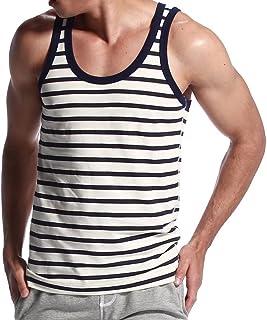 [eleitchtee] メンズ タンクトップ スリーブレス ノースリーブ 男性下着 インナーシャツ トレーニングウェア 006-bsfs-1420701(S ブラック)