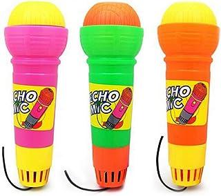 Speelgoed Echo Microfoon Variety Pack van 2 Pretend Play Multicolor Nieuwigheid Speelgoed Mic Set (Willekeurige Kleur)