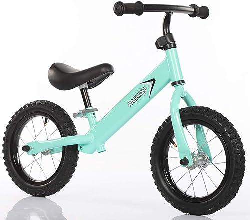 TCBIKE Verstellbare sitzh  Kinderlaufrad, 12-Zoll-im Alter von 3 bis 5 Jahre Alten Kinder fürrad stabil Kein Pedal Reiten Spielzeug Sport Training fürrad-E