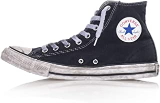 Converse, Unisex adulto, Chuck Taylor All Star High Canvas LTD Nere Smoke In, Tela, Sneakers Alte, Nero
