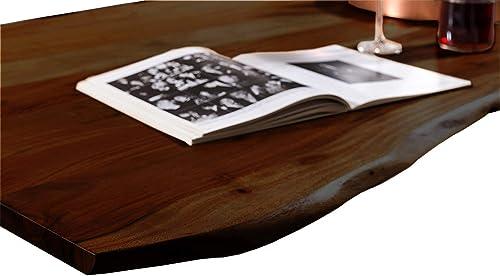 Tischplatte mit Baumkante