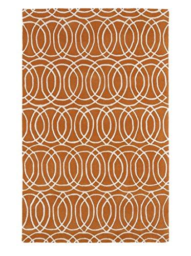 Kaleen Rugs Revolution Collection REV02-89 Orange Hand Tufted 2' x 3' Rug