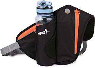 MicroBird Waist Pack with Water Bottle Holder for Hiking and Running, Cycle