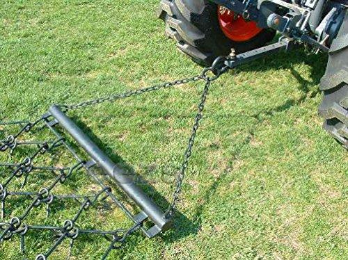 """MX 6-1/2' x 4' Variable Action Drag Chain Harrow - Overall Length: 90"""" - 3/8"""" Dia"""
