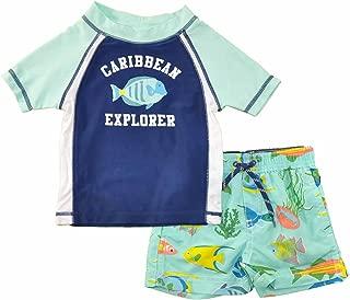 Carter's Baby Boys' Infant Caribbean Explorer Rash Guard Set