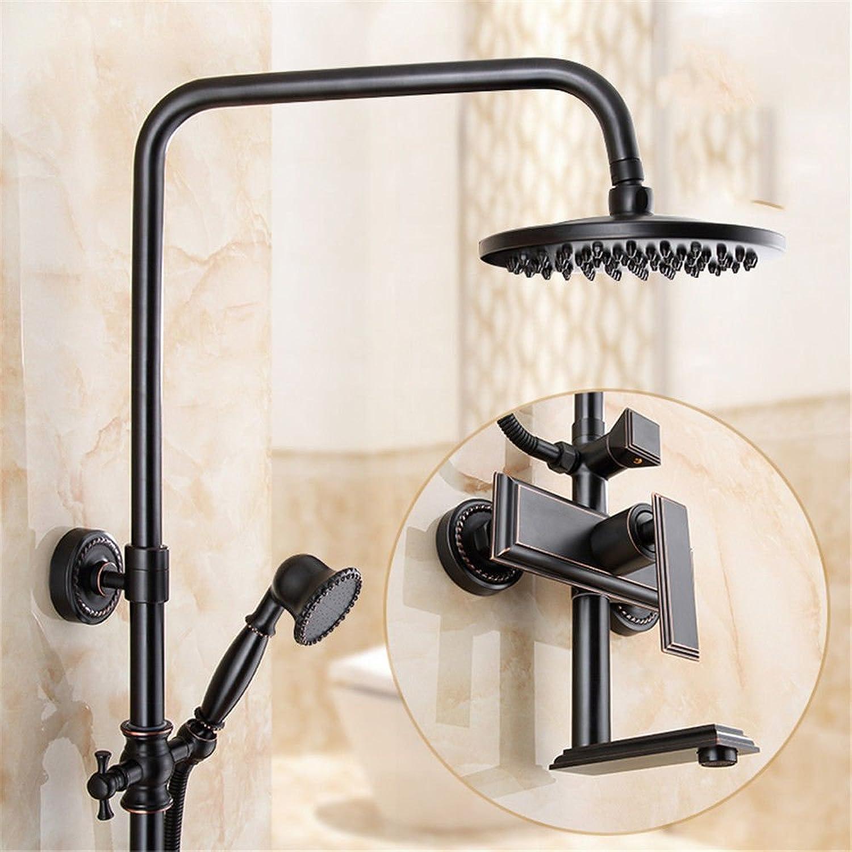 Lvsede Bad Wasserhahn Design Küchenarmatur Niederdruck Kreative Retro Duschbad Handbrause Dusche Heien Und Kalten Wasserhahn Kupfer I556