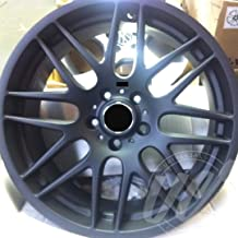 NEW 19 Inch x 8.5/9.5 M3 CSL STYLE Staggered Wheels Rims 5 lug Matt Black compatible with BMW F30 3 SERIES 328 Set of 4