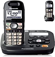 $57 » Panasonic KX-TG6592T DECT 6.0 Amplified Handset Volume Talking Caller ID Eco Mode Call Block Expandable to 6 Handset Cordl...