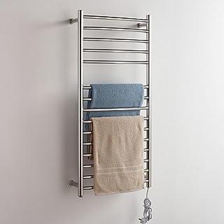 FANGYAO Montado en la pared de acero inoxidable eléctrico toallero / radiador Baño / Calentador de toallas 9013