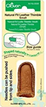 Clover Natural Fit Leather Thimble, Small