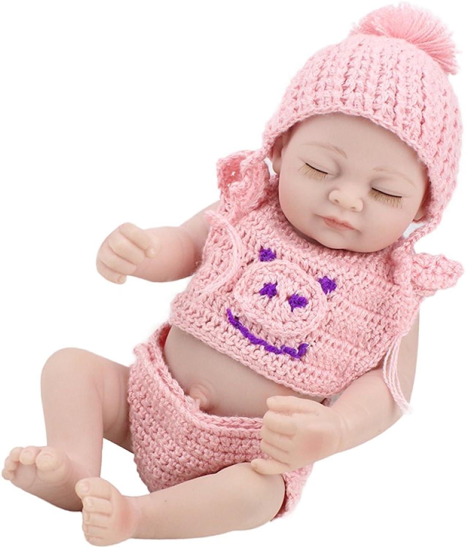LZTET Bambole Del Bambino Di Rinascita Fatte A uomoo Realistiche Realistiche Del Vinile Del Vinile Bambola Simulazione Morbida 1011 Pollici Bambini Regalo Preferito