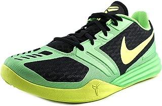 Kobe Mentality Mens Basketball Shoes 704942-001 Black Poison Green-Volt 11 M US