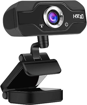 AOGUERBE Webcam HD, PC Telecamera 1080P Full HD Camera USB Web Camera Microfono Integrato Web Cam per Google Hangouts, Registrazione Video, Facetime, Youtube Compatibile con PC Laptop Computer Mac - Trova i prezzi più bassi