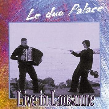 Le duo Palace,en direct à Lausanne