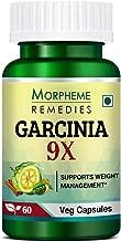 Morpheme Remedies Garcinia 9X (Garcinia Cambogia, Green Coffee, Green Tea, Forskolin, Grape Seed) - 60 Veg Capsules